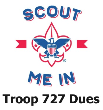 Troop 727 - 2019 Dues Payment